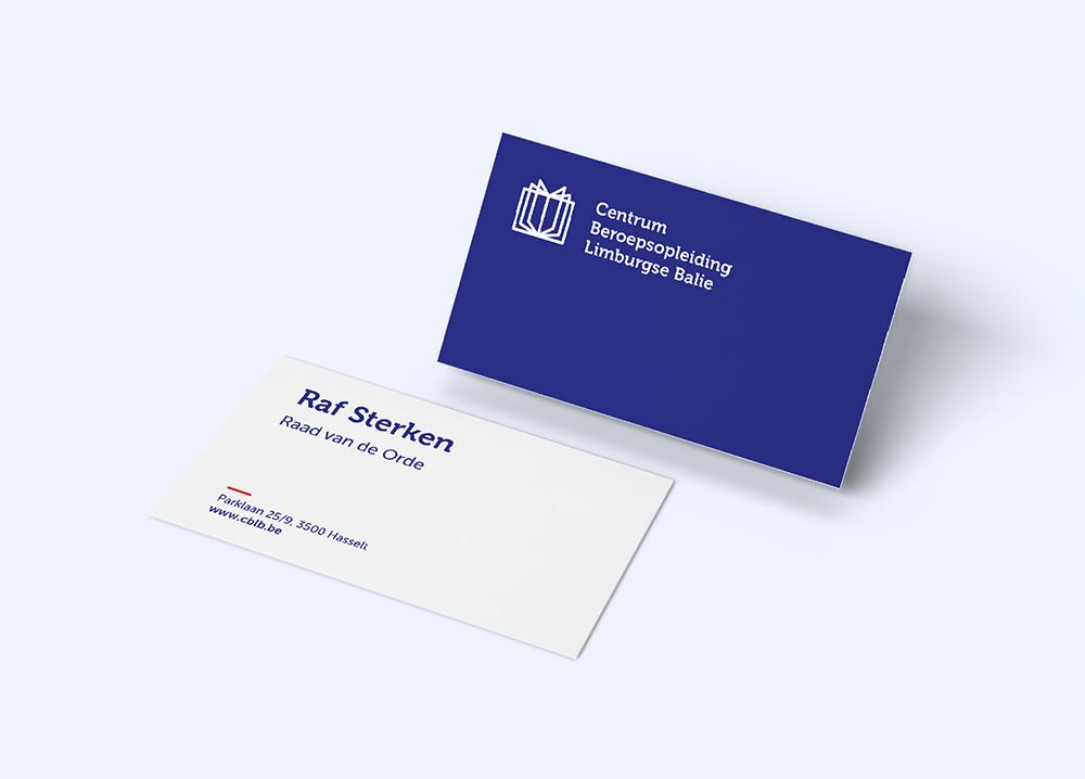 CBLB visitekaartje